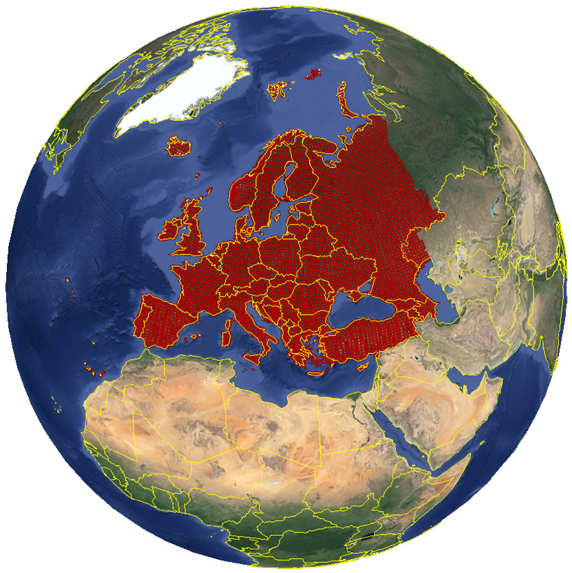Breeding bird atlas of European Russia