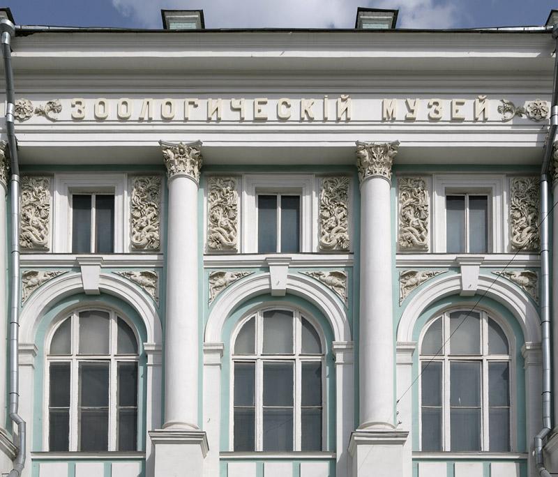 Зоологический музей МГУ на ул.